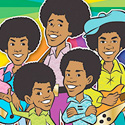 Jackson Five Cartoon DVD