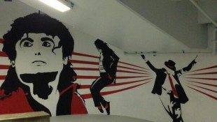 Michael's Mural Deep In Aloha Stadium