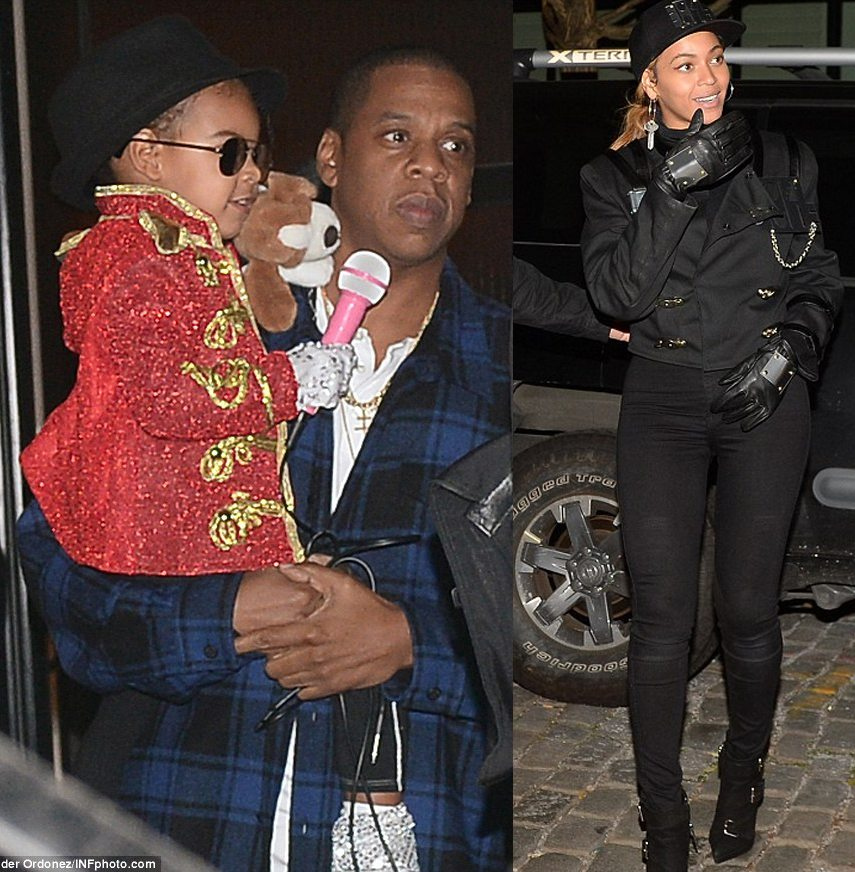Beyonce And Blue Halloween Costumes Blue Ivy And Beyonce Halloween