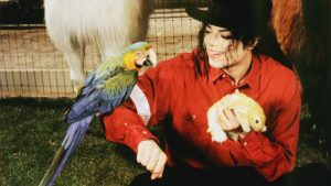 MJ-with-animals