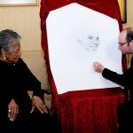 Maya Angelou adds her dot.