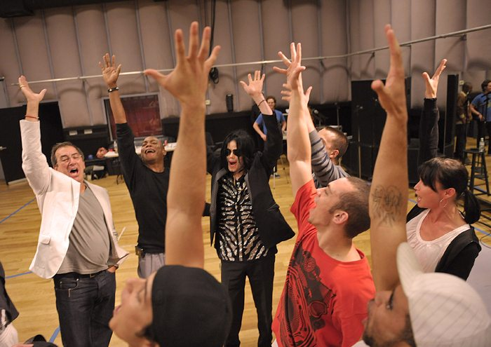 This Is It Rehearsal Michael Jackson World Network