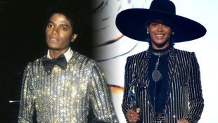 Beyoncé Channels MJ Receiving A Fashion Icon Award