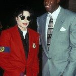 1995 File Photo of Michael Jackson and Magic Johnson