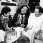 With Diana Ross on CBS TV show
