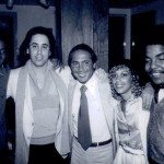 Michael with Paul Anka