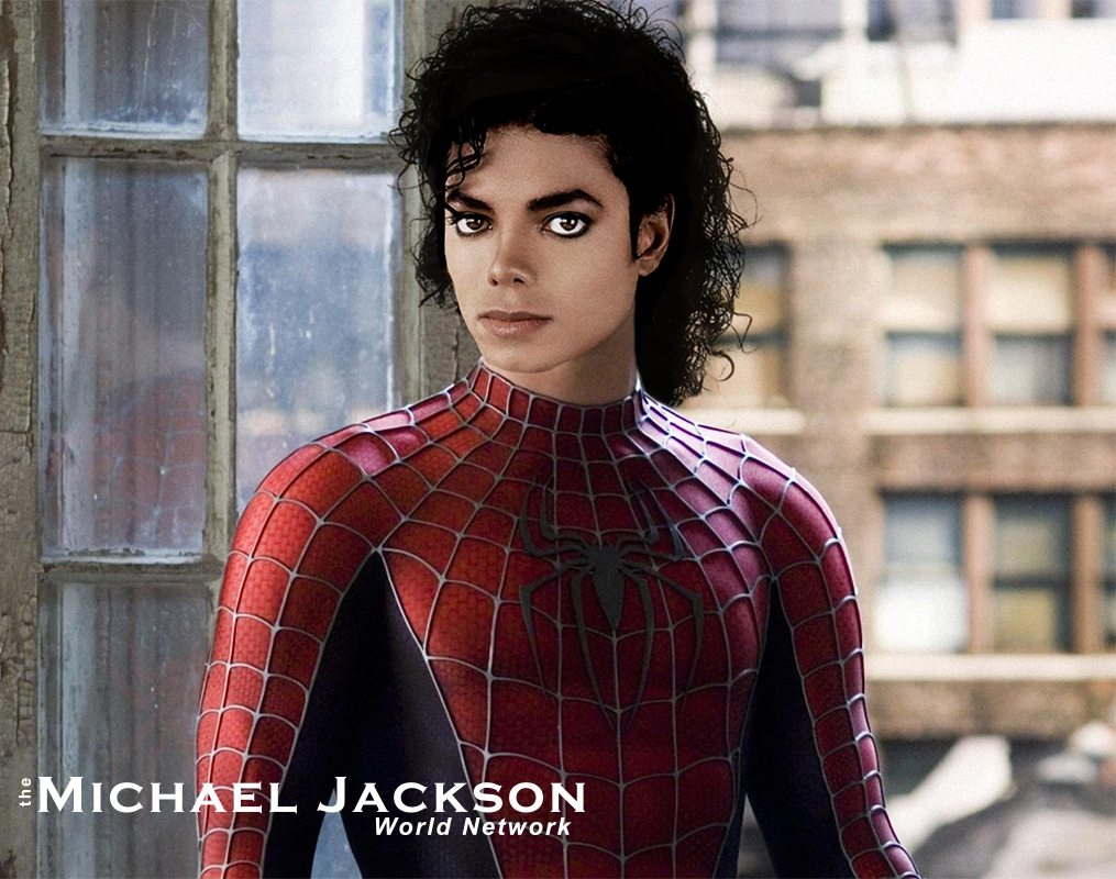 Michael Jackson As Spiderman | Michael Jackson World Network
