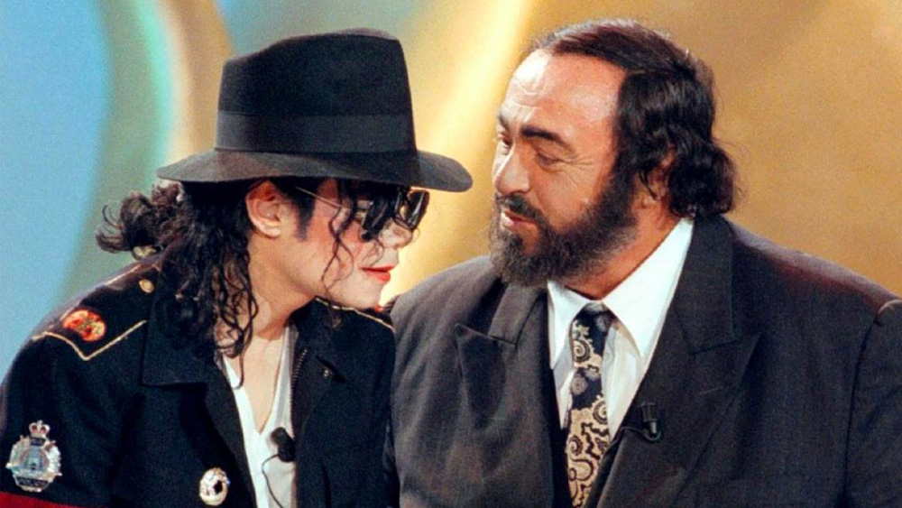Michael And Pavarotti