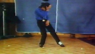 Michael Dances For Tussauds