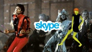 Skype Creates Thriller Zombie Emoticon