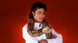 Michael With Muscles The Snake
