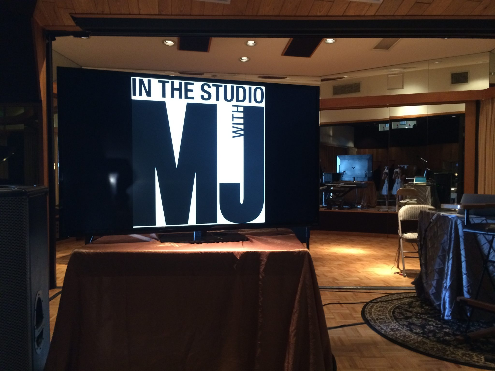 In The Studio With Mj Michael Jackson World Network