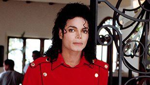 Michael In Marc Quinn Exhibition