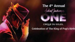 4th Annual Michael Jackson One Celebration