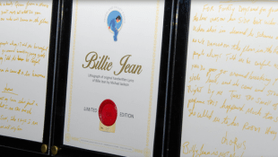 Original 'Billie Jean' Lyrics On Offer