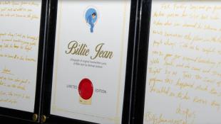 Original 'Billie Jean' Lyrics On Offer