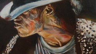 Michael Jackson Inspired Alex Krasky To Paint
