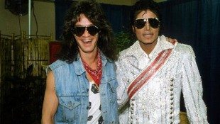 The King Of Pop Met The King of Rock