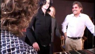 Michael With Geraldo Rivera In 2005
