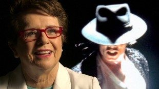 Billie Jean King Does 'Billie Jean'
