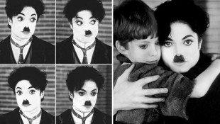 Michael's Tribute To Charlie Chaplin