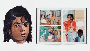 1980's Collage Book Reproduced