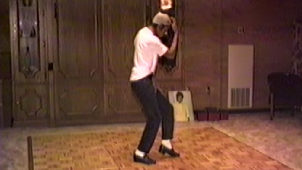 Michael Practicing To Dance Footage Released