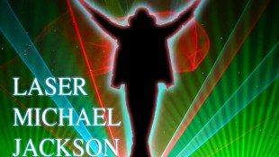 Michael Jackson Laser Show