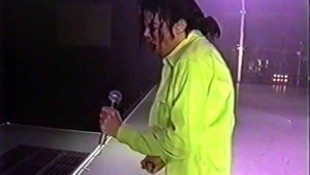 Michael Rehearsing 'Beat It' In 1992