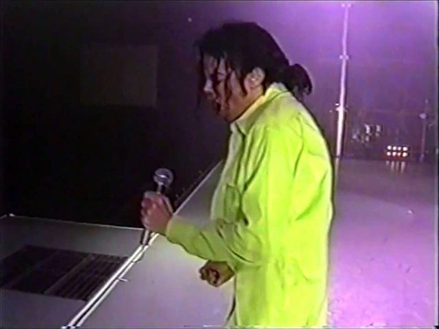 Michael Rehearsing Beat It In 1992 Michael Jackson