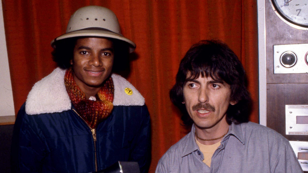 15697a9cf136 George Harrison And Michael | Michael Jackson World Network