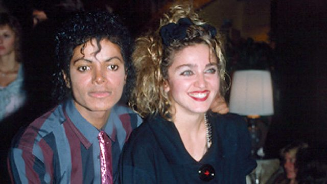 Image result for michael jackson and madonna 1984