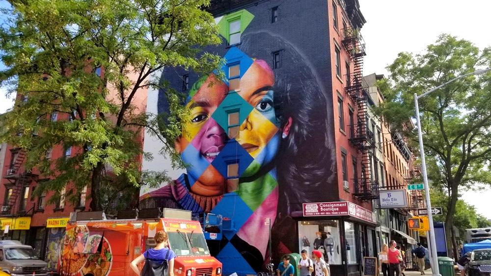 Mural Of Michael In New York