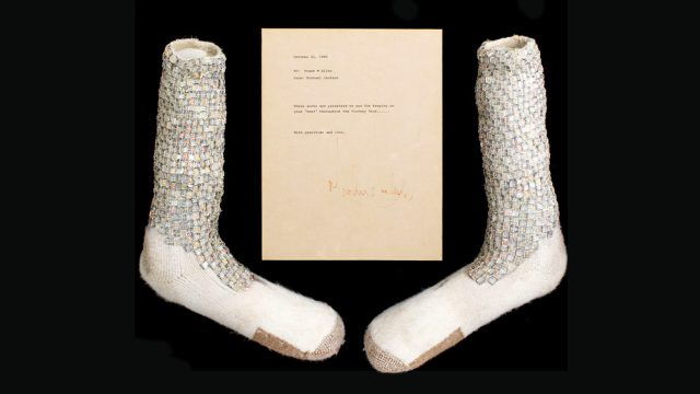 Motown 25 Socks Up For Auction