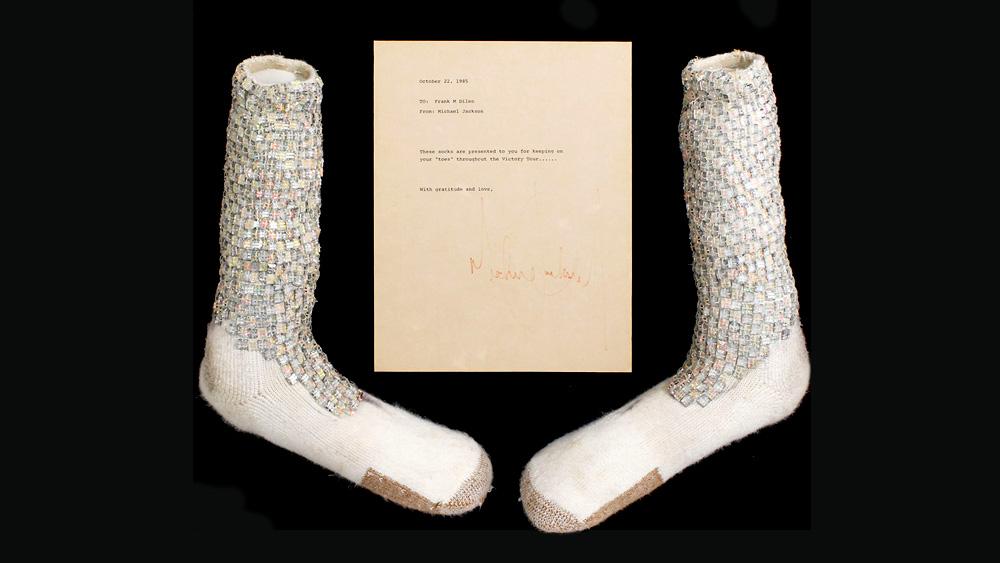 Motown 25 Socks Up For Auction