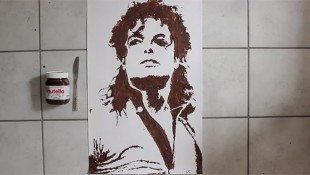 Michael Painted In Nutella