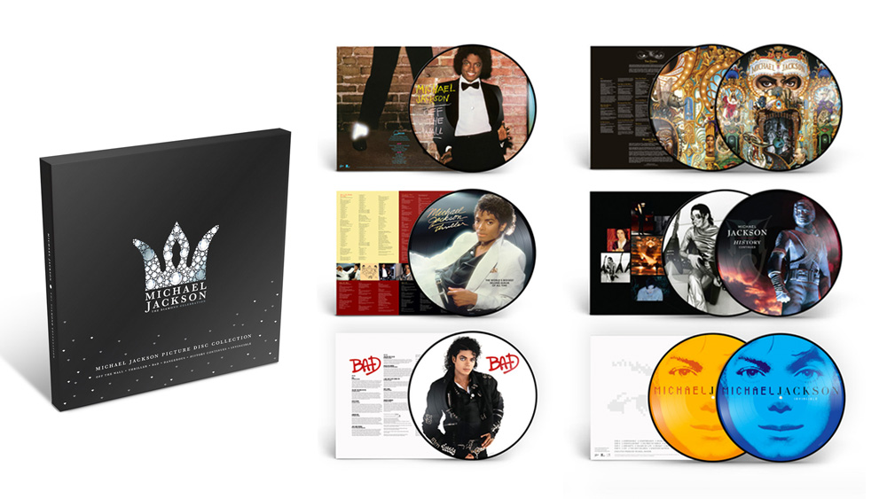 New Picture Disc Collection Released Michael Jackson