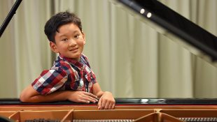 Michael's Songs Help Child Become Piano Prodigy