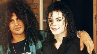 Slash On Working With Michael